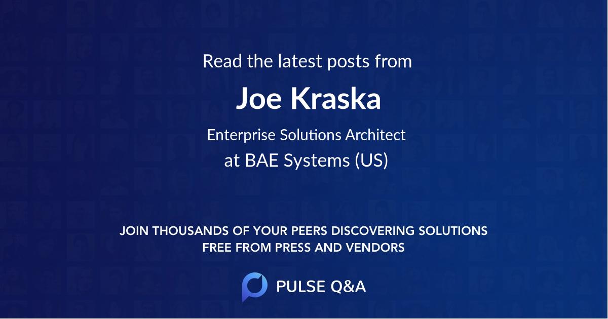 Joe Kraska