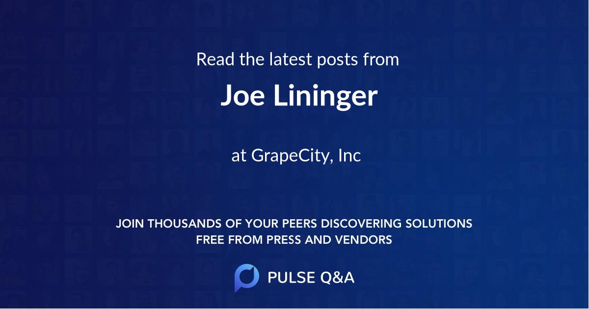 Joe Lininger