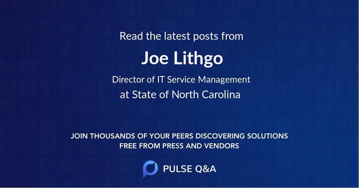 Joe Lithgo