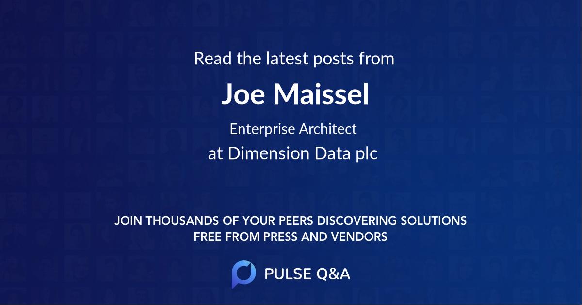 Joe Maissel
