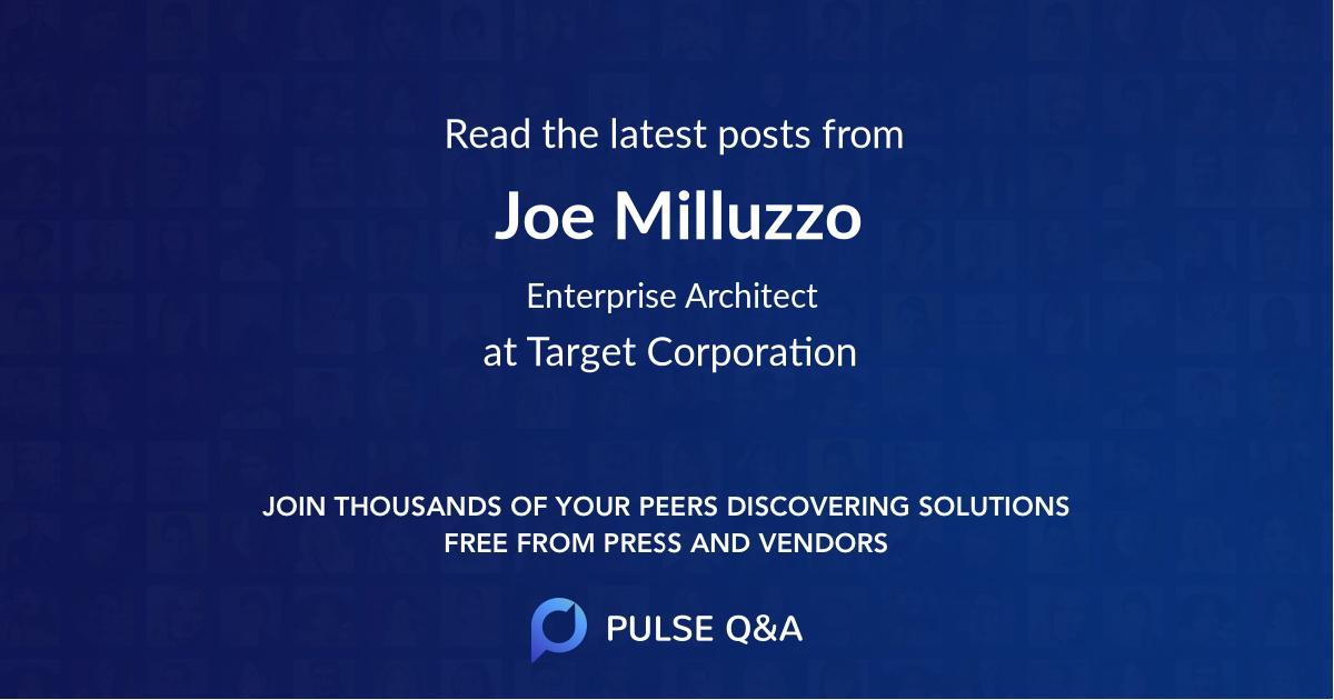 Joe Milluzzo