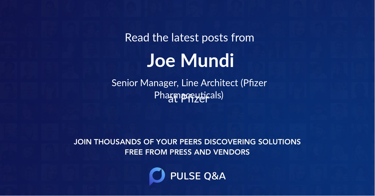 Joe Mundi