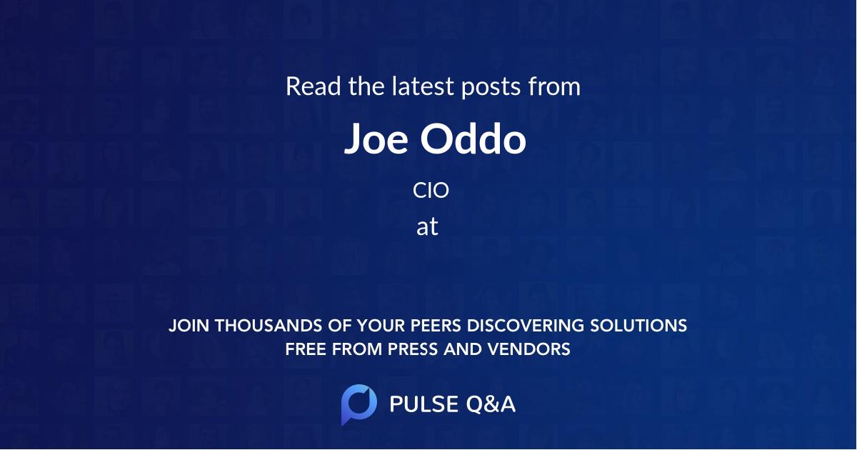 Joe Oddo