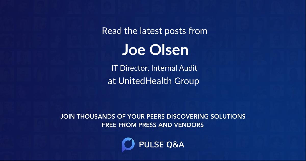 Joe Olsen
