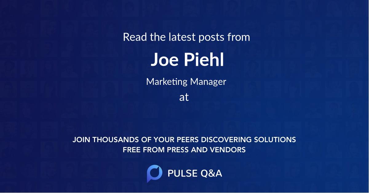Joe Piehl