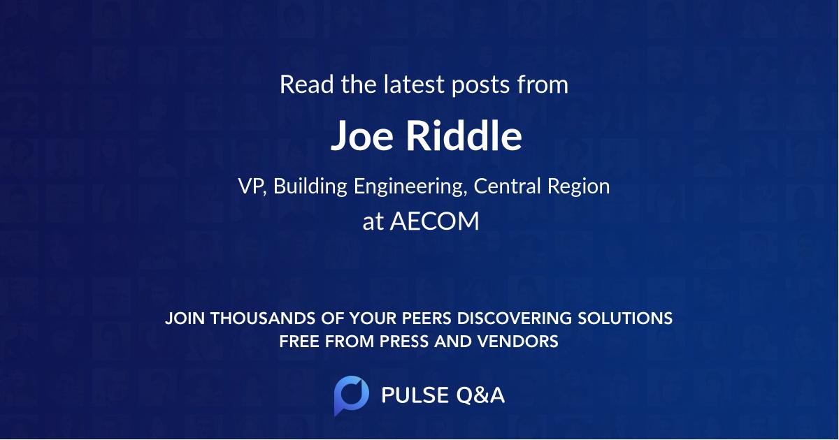 Joe Riddle