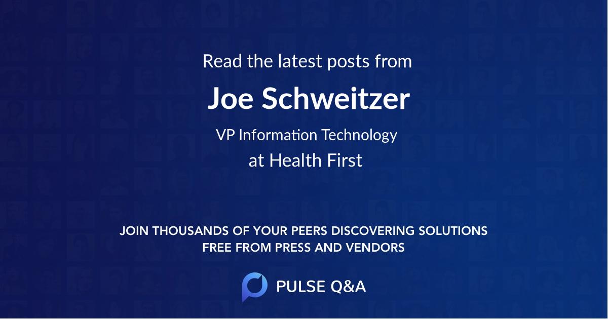 Joe Schweitzer