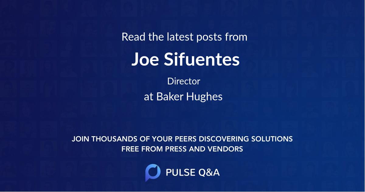 Joe Sifuentes