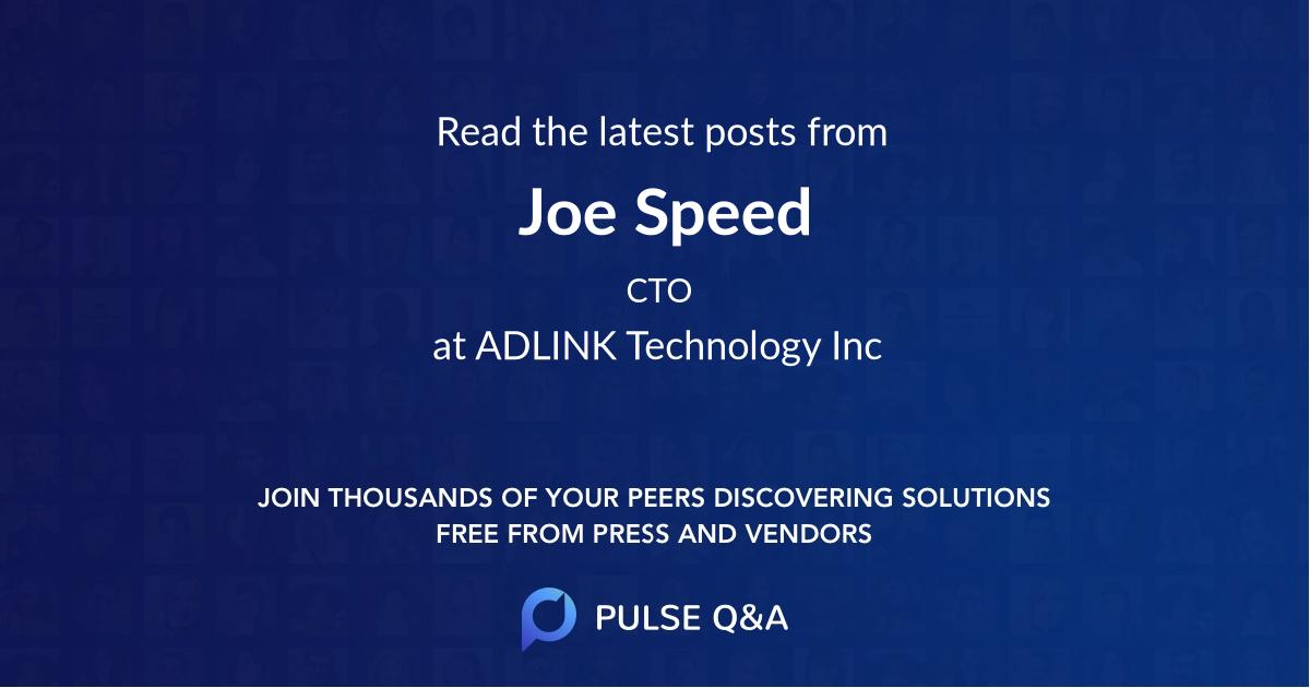 Joe Speed