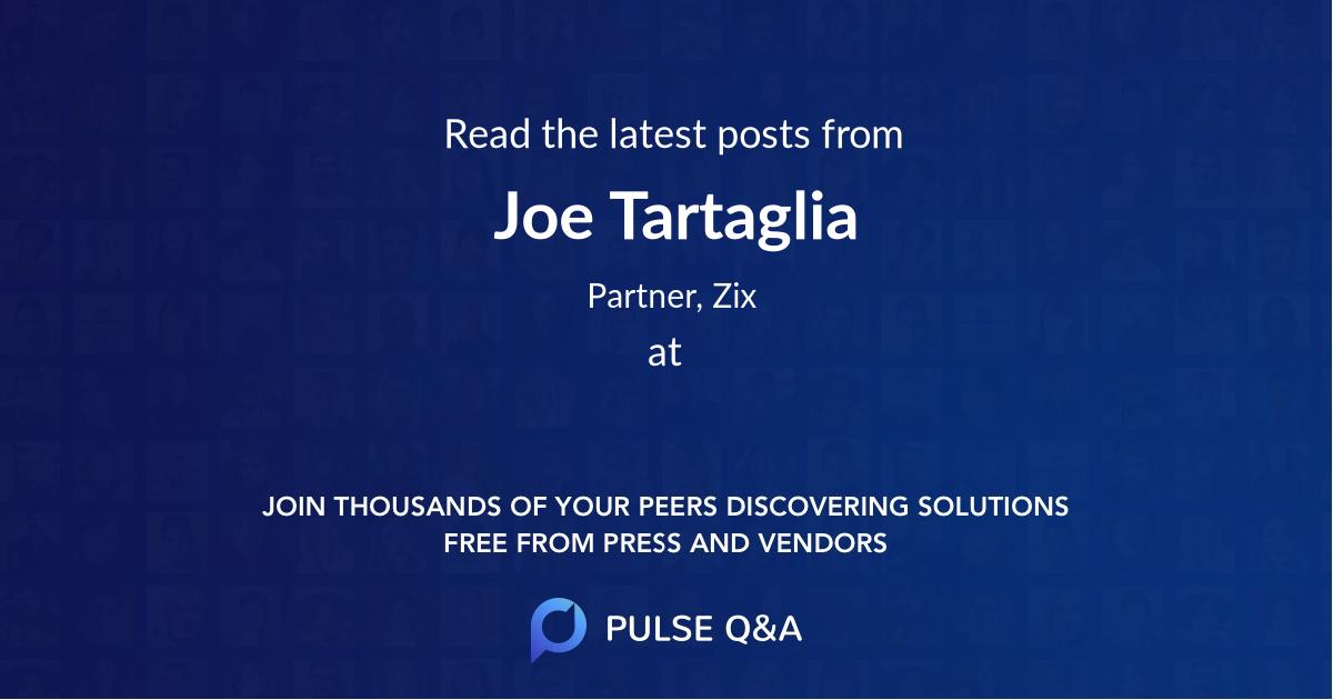 Joe Tartaglia