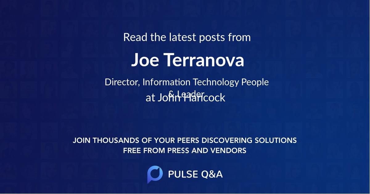 Joe Terranova