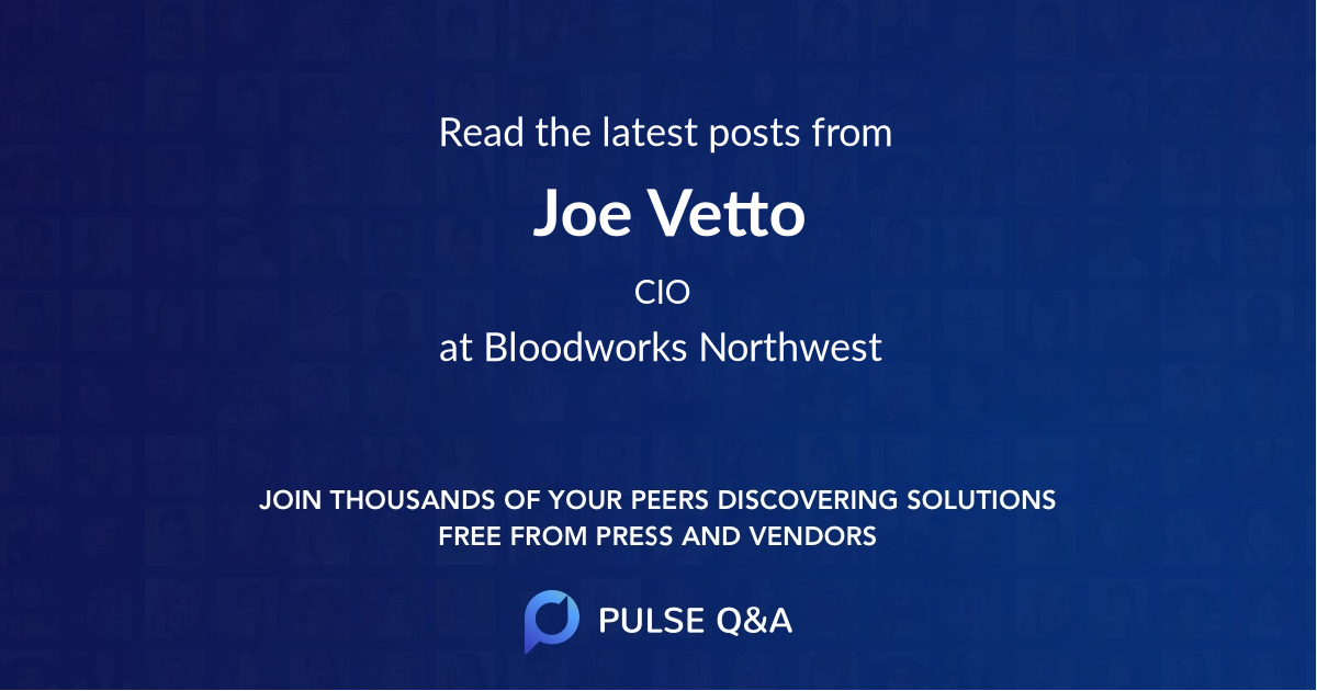 Joe Vetto