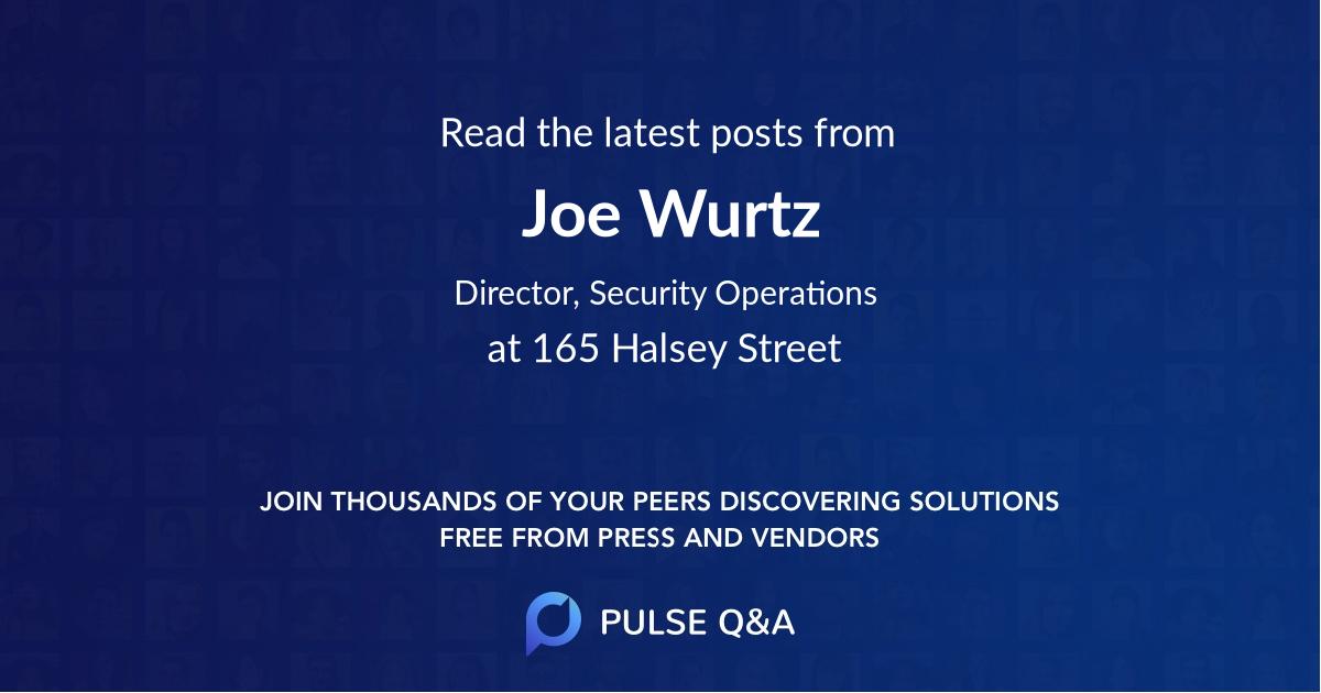 Joe Wurtz