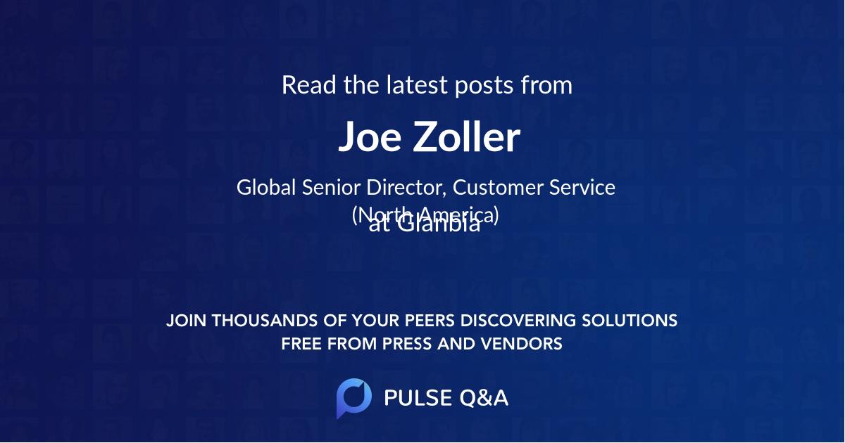 Joe Zoller