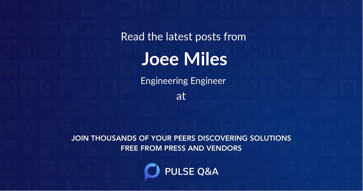 Joee Miles