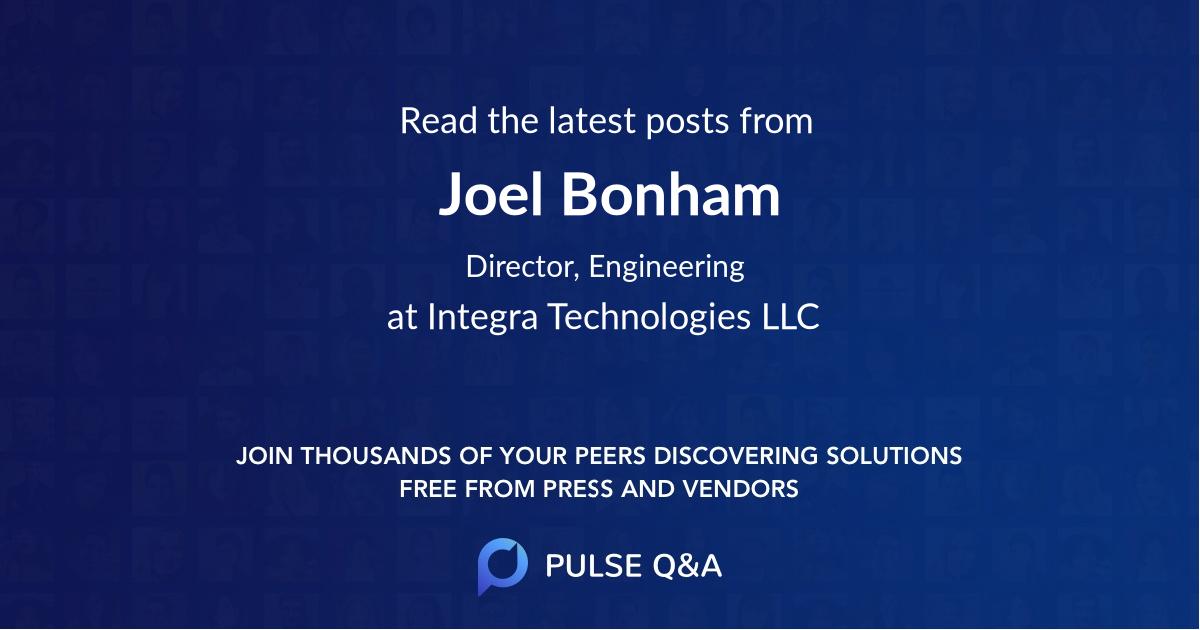 Joel Bonham