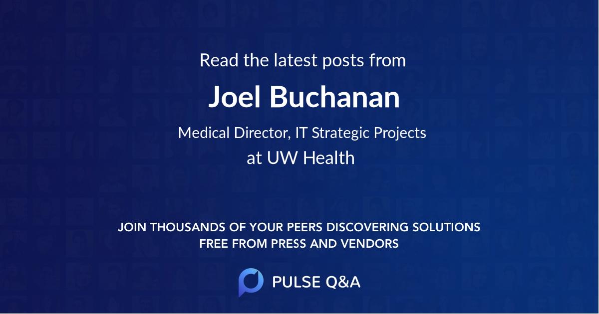 Joel Buchanan