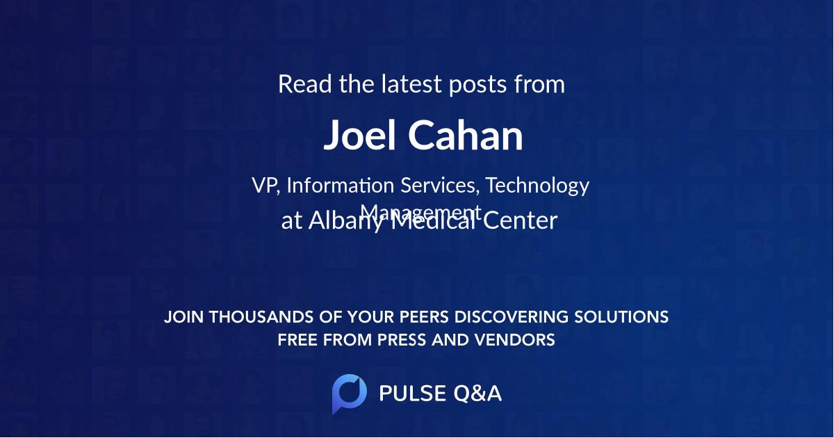 Joel Cahan