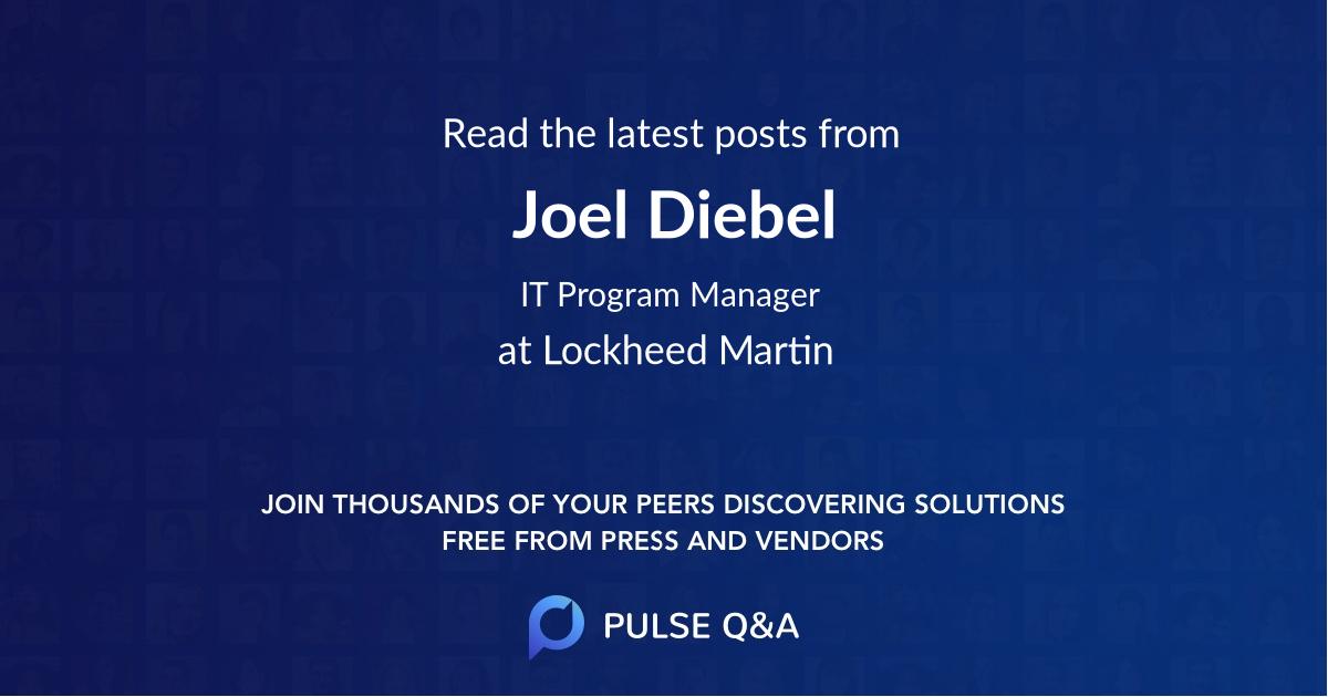 Joel Diebel