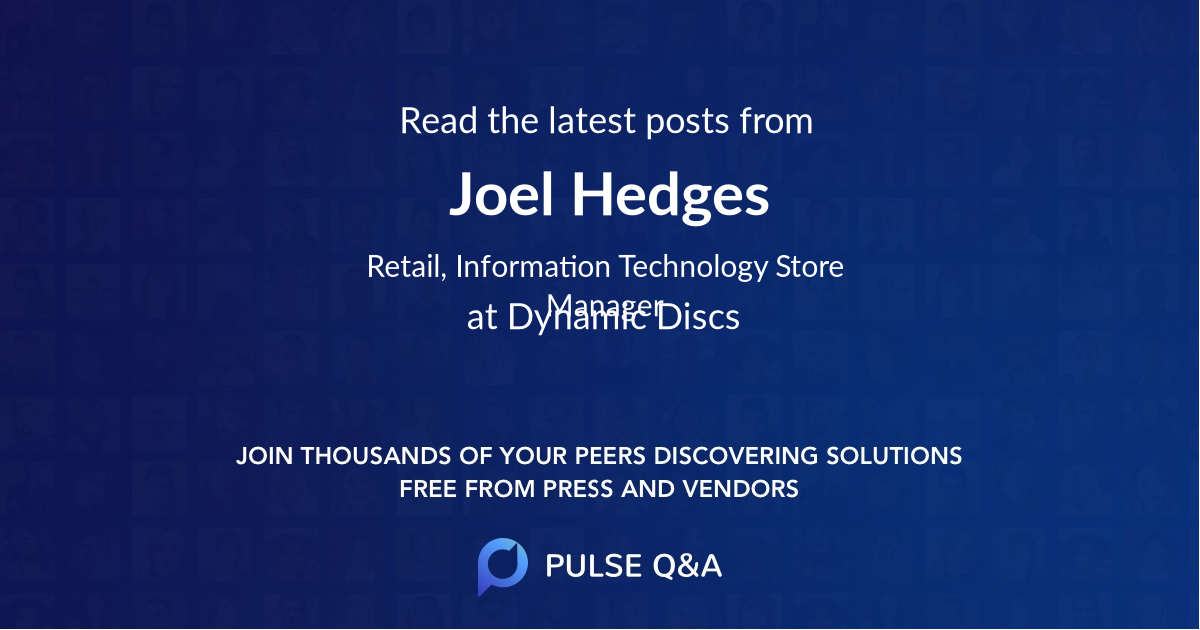 Joel Hedges