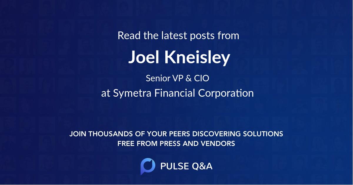 Joel Kneisley