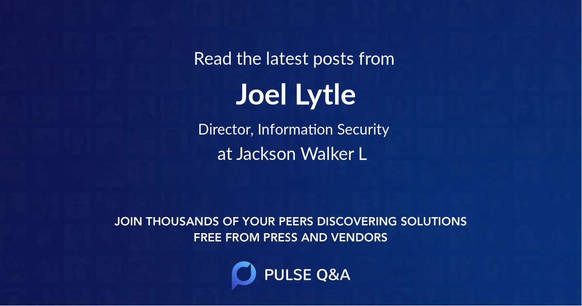 Joel Lytle
