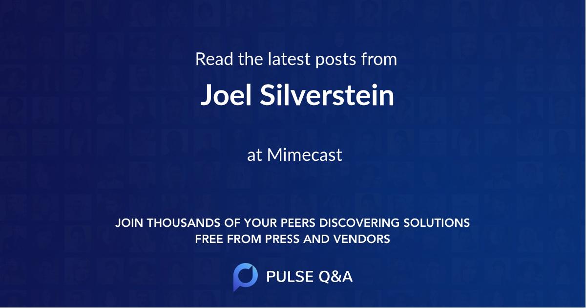 Joel Silverstein