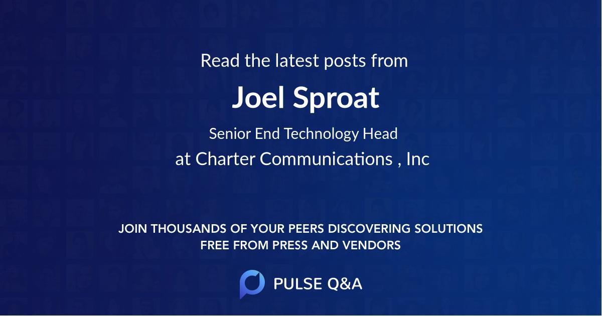Joel Sproat