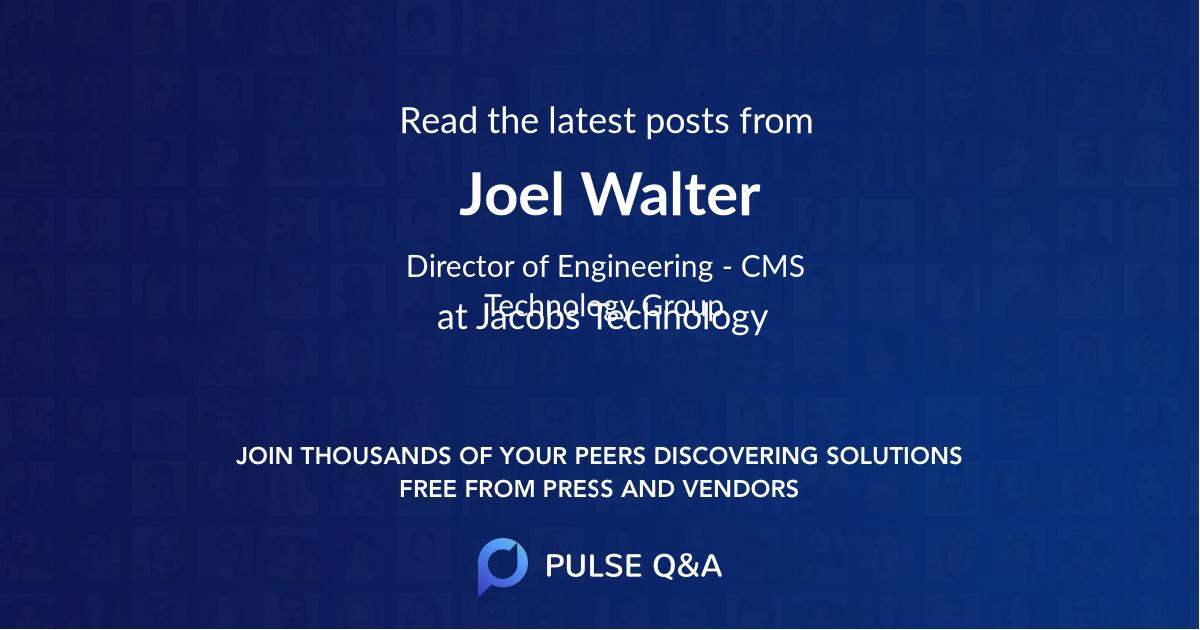 Joel Walter