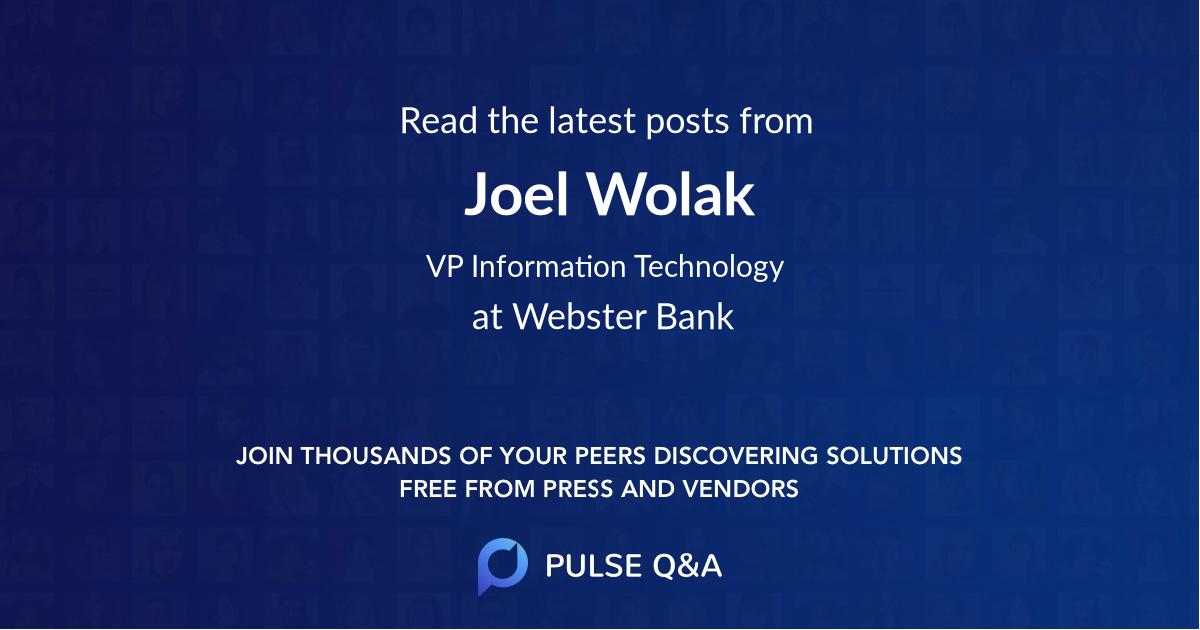 Joel Wolak
