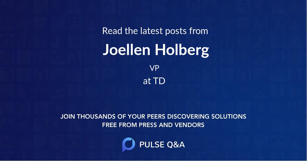 Joellen Holberg