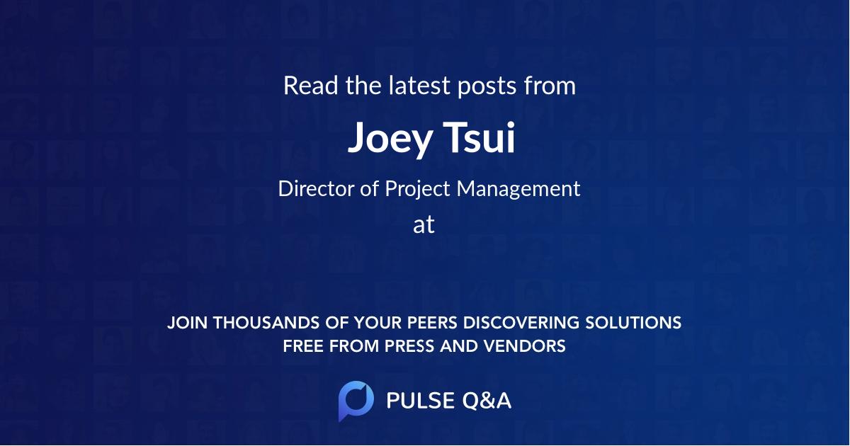 Joey Tsui