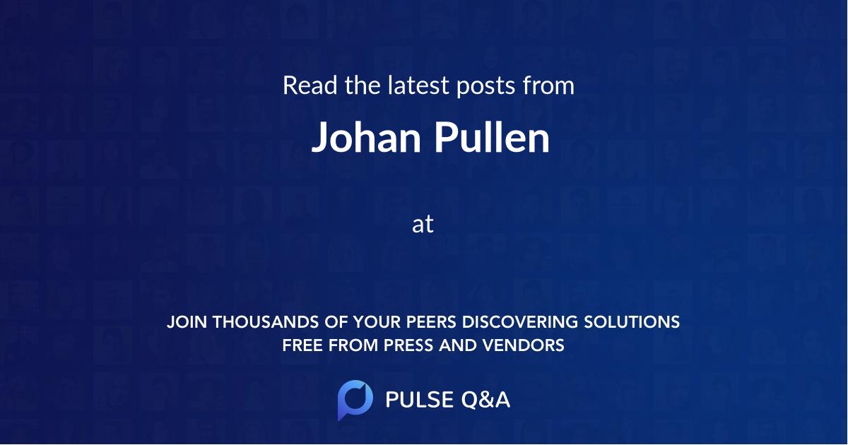 Johan Pullen