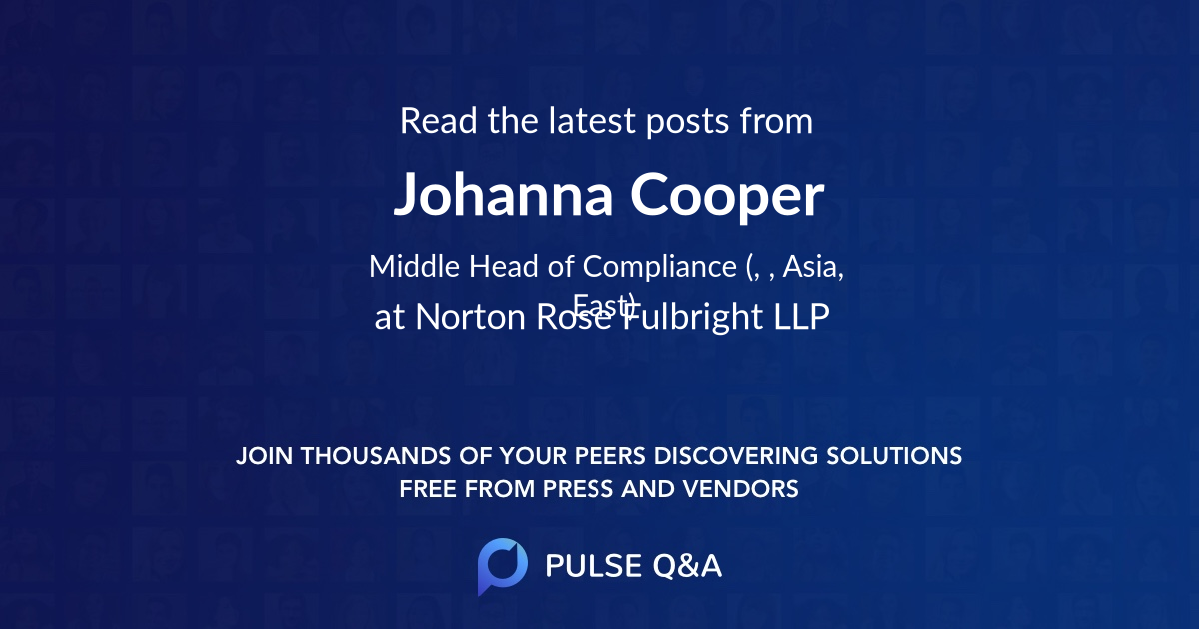 Johanna Cooper