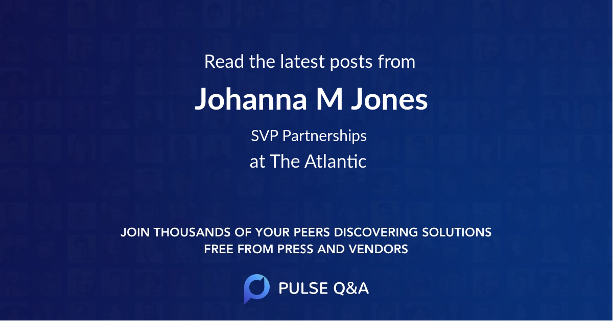 Johanna M. Jones