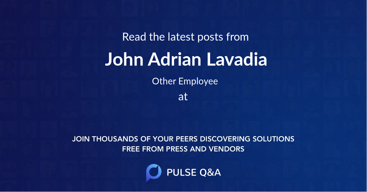 John Adrian Lavadia