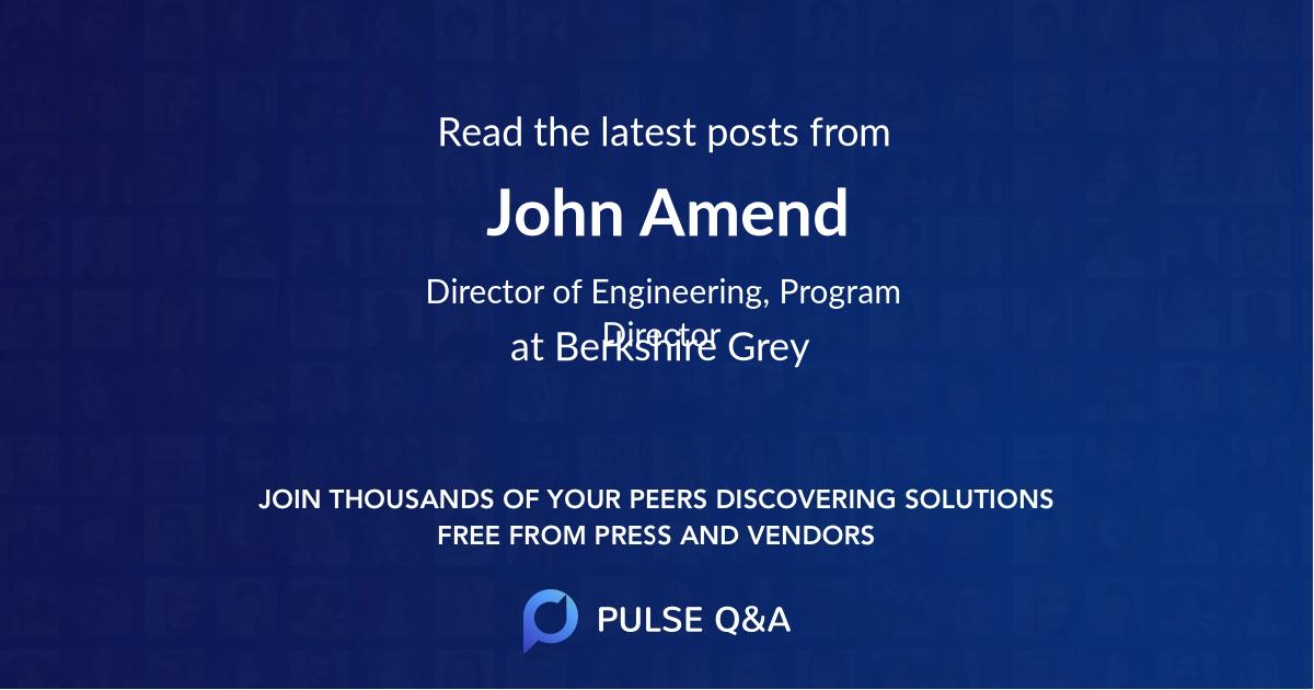 John Amend
