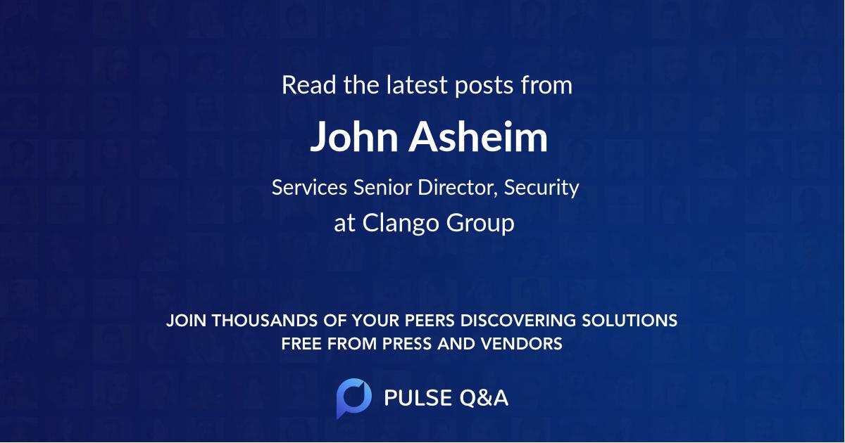 John Asheim