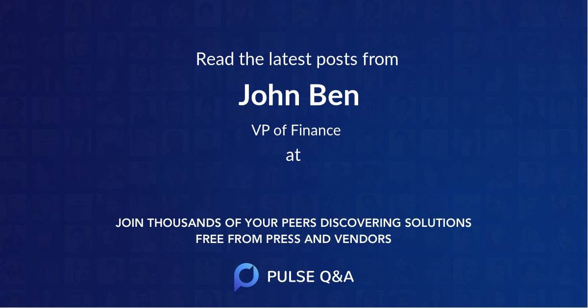 John Ben