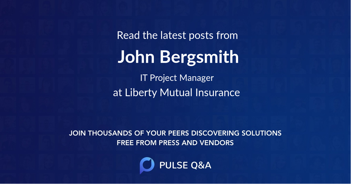 John Bergsmith