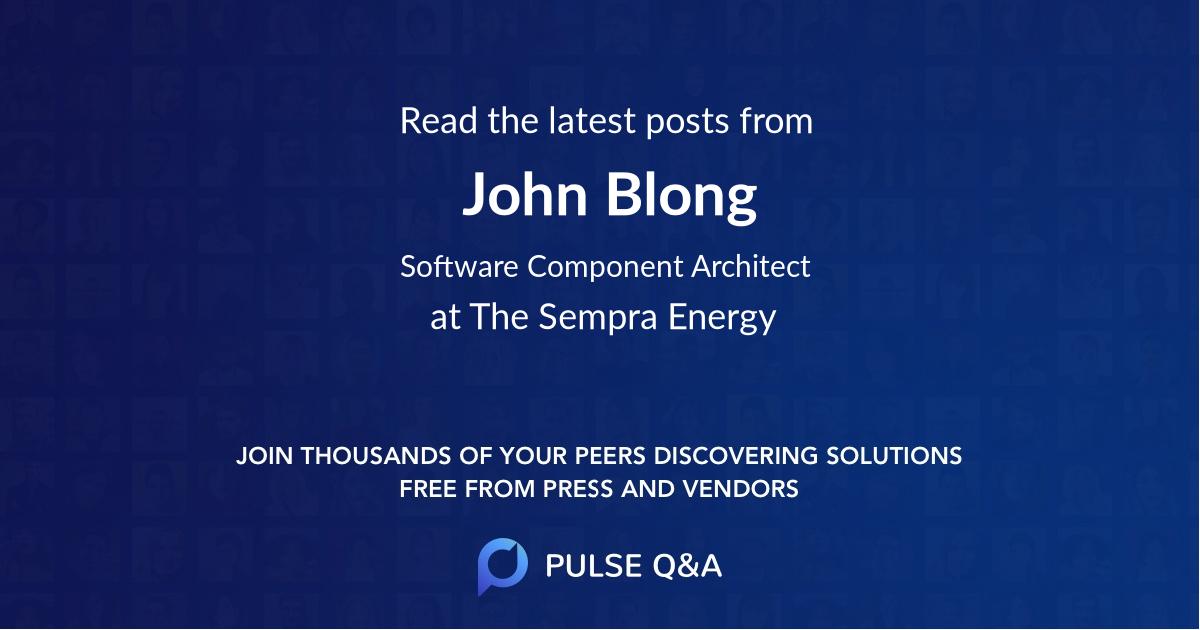 John Blong
