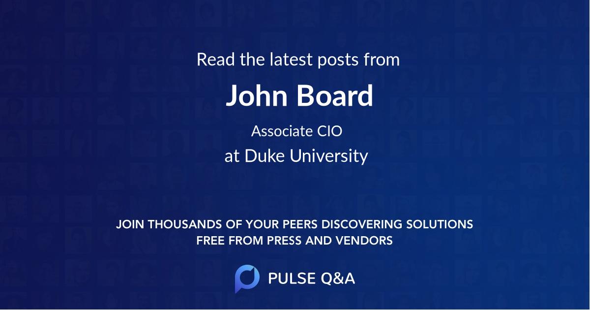 John Board