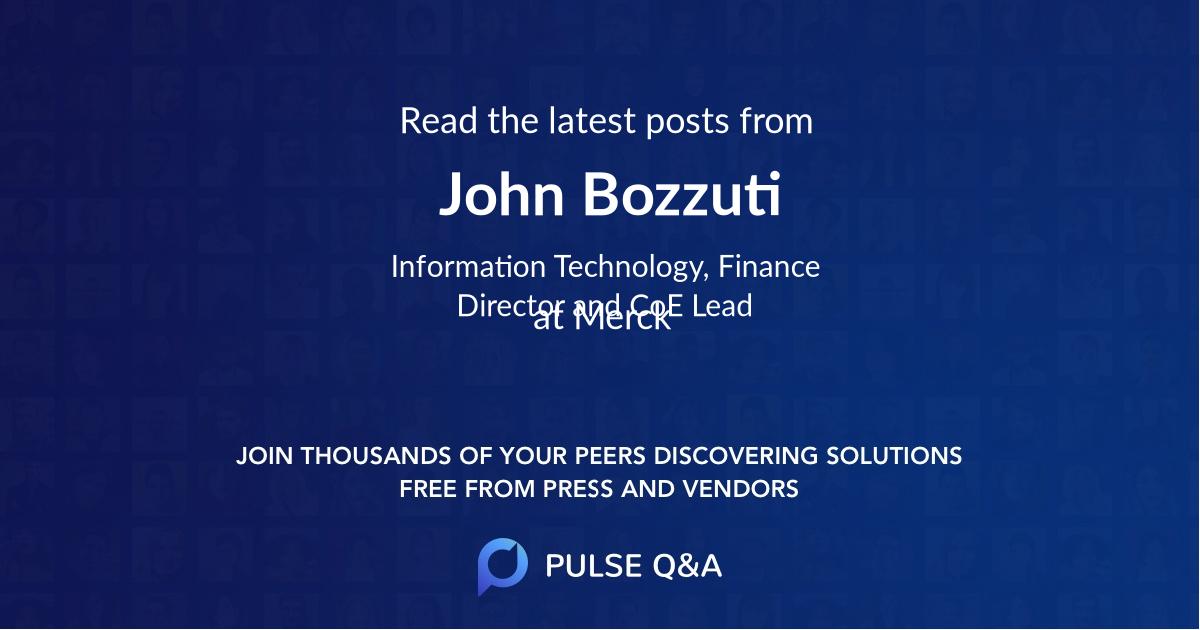 John Bozzuti