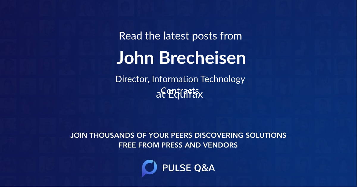 John Brecheisen