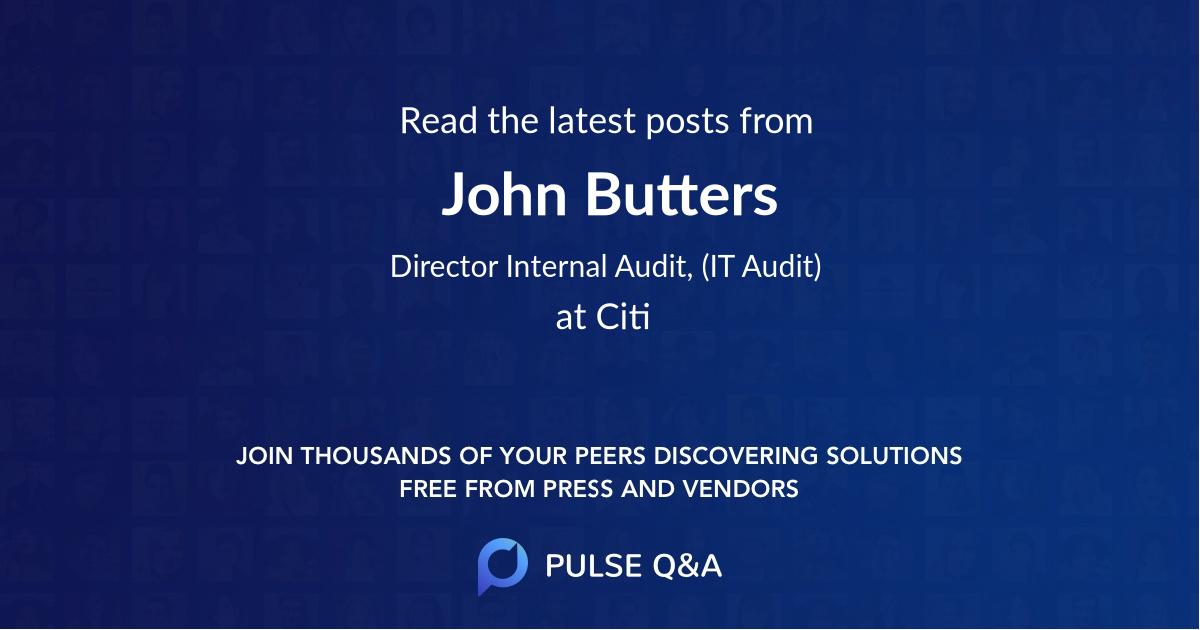John Butters