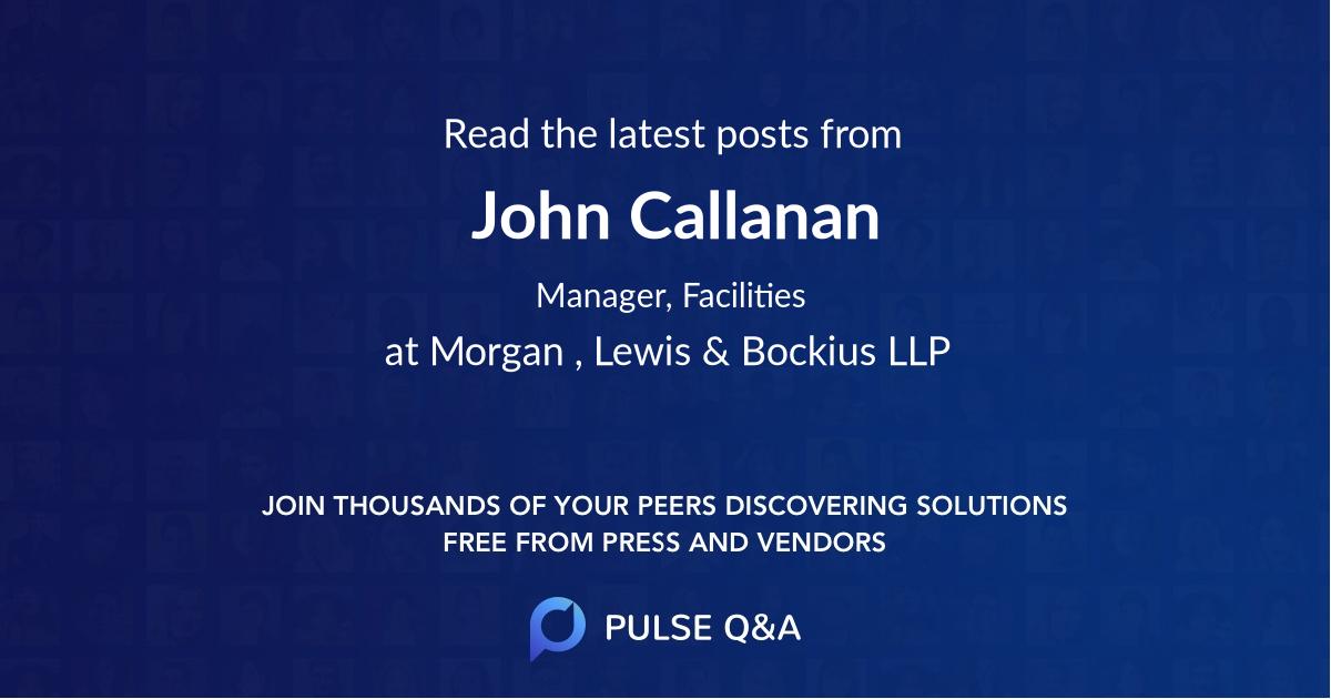 John Callanan