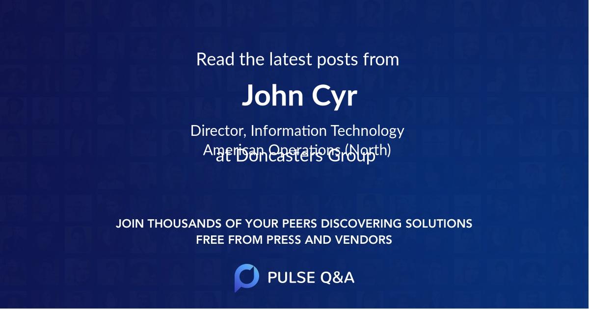John Cyr