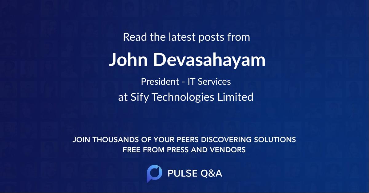 John Devasahayam