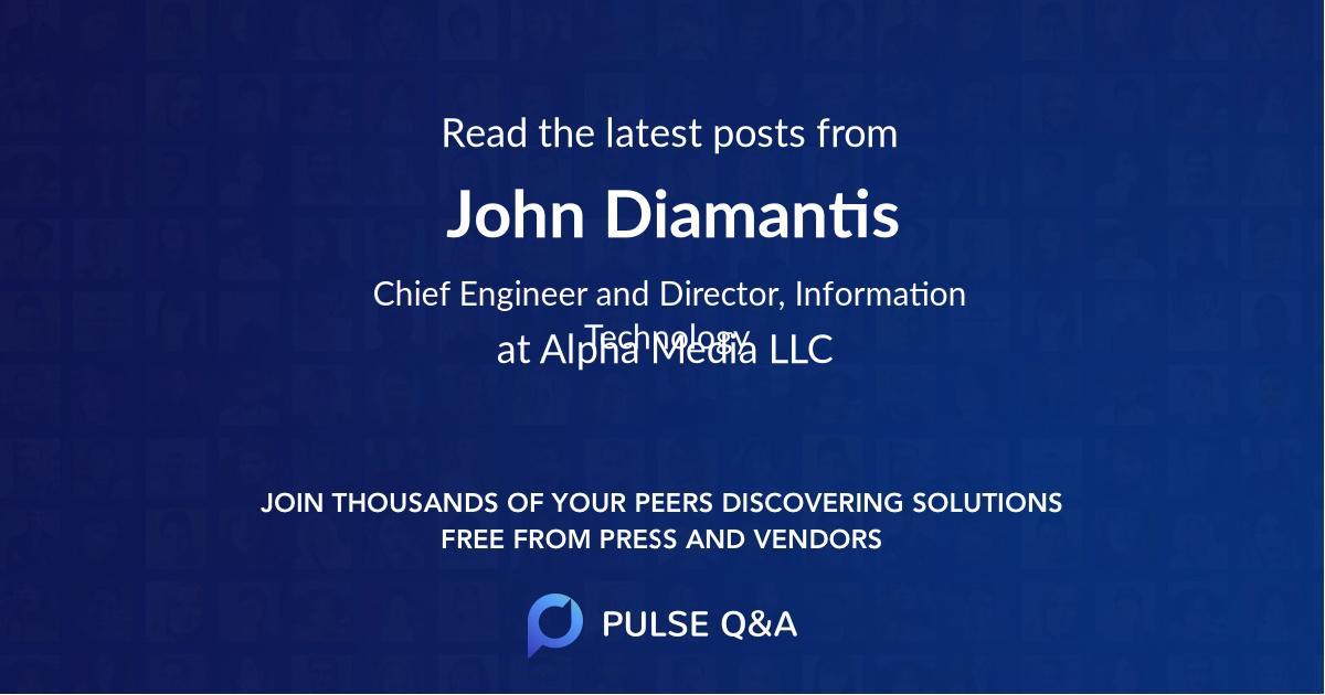 John Diamantis