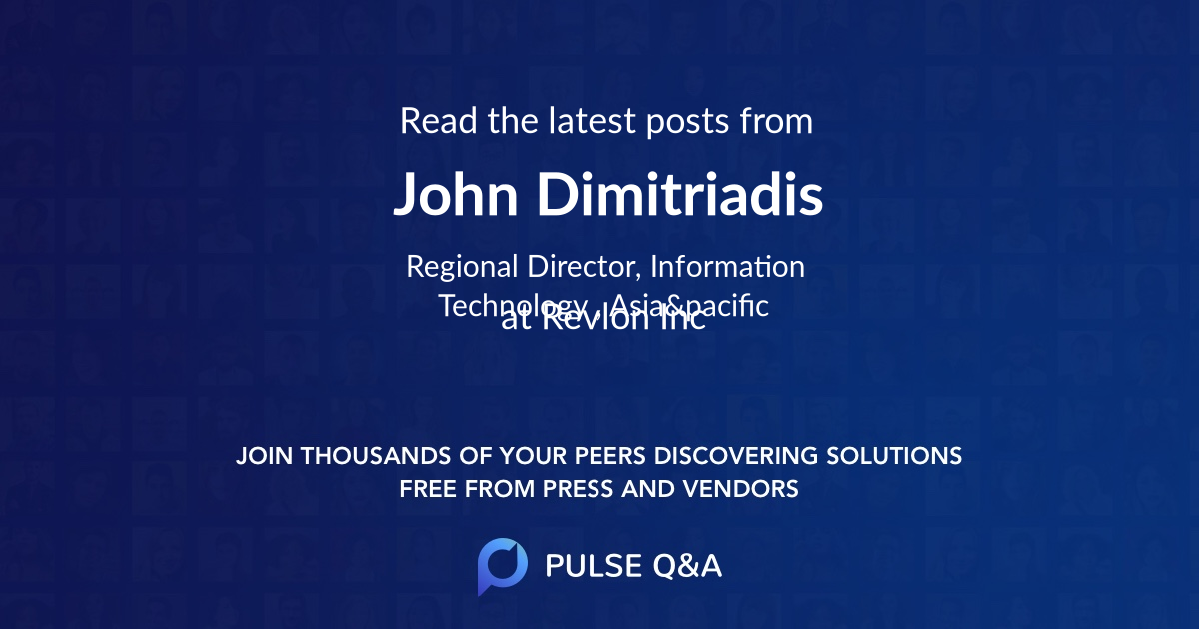 John Dimitriadis